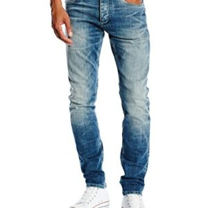 Jack-Jones-Jeans-Slim-Homme-Bleu-Blue-Denim-W28L30-0-1