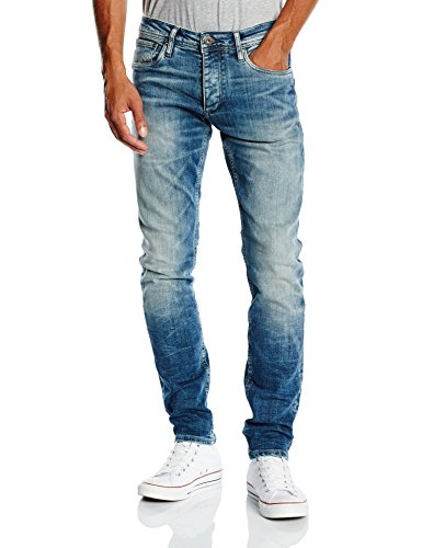 Jack-Jones-Jeans-Slim-Homme-Bleu-Blue-Denim-W28L30-0-1