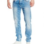 Pepe-Jeans-Spike-Jeans-Slim-Homme-Bleu-Denim-000-S55-W29L32-Taille-fabricant-W29L32-0-1