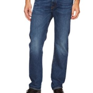 Levis-Homme-501-Original-Straight-Fit-Jeans-Bleu-HOOK-W34L34-0