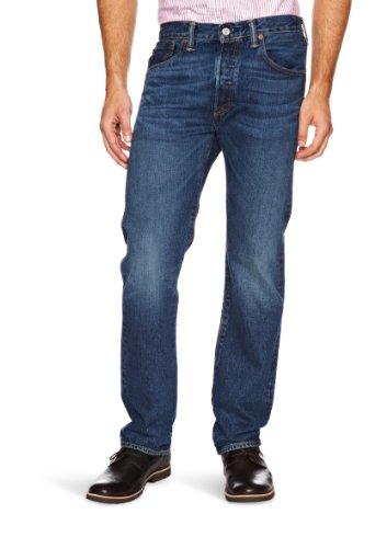 Levis-Homme-501-Original-Straight-Fit-Jeans-Bleu-HOOK-W34L34-0