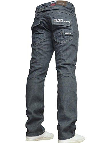 Enzo-Jeans-Droit-Homme-Gris-W32-0