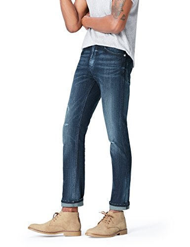 FIND-Jean-Slim-Dlav-Effet-Us-Homme-Bleu-Medium-Wash-W34L32-0