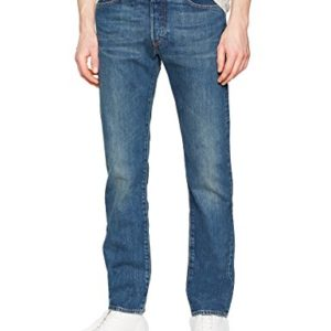Levis-Homme-501-Original-Straight-Fit-Jeans-Bleu-HOOK-W33L32-0