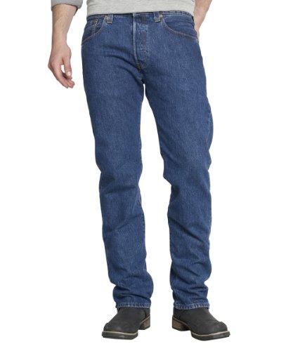Levis-Homme-501-Original-Straight-Fit-Jeans-Homme-Bleu-Stonewash-W30L34-0