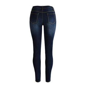 Beautyjourney-Jean-Taille-Haute-Femme-Jupe-Jean-Fille-Un-Pantalon-Femme-Jean-Baggy-Femme-Patron-Pantalon-Femme-Denim-Skinny-Jeans-Stretch-Pantaloni-Slim-Pantaloni-Lunghi-S-Bleu-0