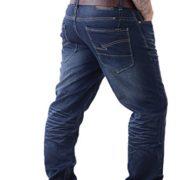 Crosshatch-Jeans-Droit-Homme-Dlavage-Fonc-30W-x-34L-0-0