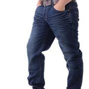 Crosshatch-Jeans-Droit-Homme-Dlavage-Fonc-30W-x-34L-0