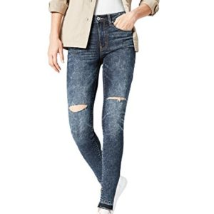 FIND-AZW-8015-jeans-femme-Bleu-Rigid-W28L32-Taille-Fabricant-Small-0