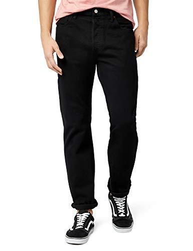 Levis-501-Original-Jeans-Homme-Noir-80701-Black-0165-34W-34L-0