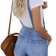 Dokotoo-Femme-Jeans-Salopette-Courte-Denim-Lche-Dcontract-Combinaison-Shorts-Jumpsuit-Barboteuses-Pantalons-Courts-Casual-S-XXL-0-0