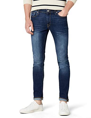 JACK-JONES-JJILIAM-JJORIGINAL-AM-014-LID-NOOS-Jeans-Homme-Bleu-Blue-Denim-W32L32-Taille-fabricant-32-0