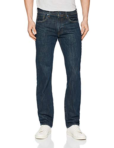 Levis-501-Levis-Original-Fit-Jean-Droit-Homme-Bleu-Snoot-2744-W34L32-0