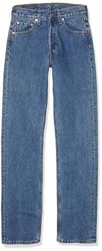Levis-501-Original-Straight-Fit-Coupe-Droite-jeans-Bleu-Stonewash-W32L34-0