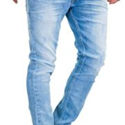 Merish-Jeans-Slim-Fit-9148-Jeans-Stretch-pour-Homme-Bleu-34W-x-32L-0
