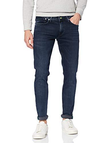 Pepe-Jeans-FINSBURY-Jean-skinny-Bleu-Blue-Black-Wiser-Wash-Denim-Wx7-Taille-FabricantW28L30-Homme-0