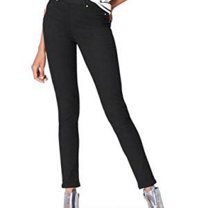 find-DC1930L-jeans-femme-Noir-Black-W32L32-Taille-fabricant-Large-0