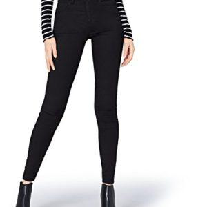find-DC3083S-jeans-femme-Noir-Black-W34L32-Taille-fabricant-X-Large-0