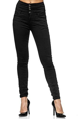 Elara-Jeans-Femme-Taille-Haute-Push-Up-Skinny-Fit-Chunkyrayan-MEL0047-Blau-42-0