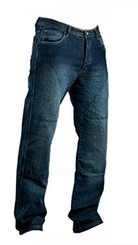 Juicy-Trendz-pour-des-Hommes-Moto-Un-Pantaloon-Jeans-Biker-Renforc-avec-Armures-De-Protection-0