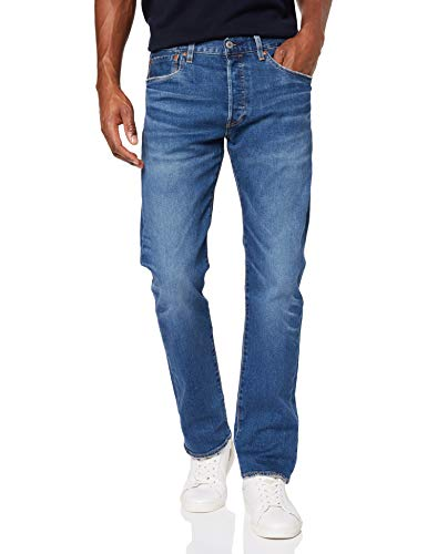 Levis-501-Original-Fit–Jean-denim-classique-pour-hommes–coupe-droite-Bleu-Key-West-Sky-Tnl-2991-W32L30-Taille-fabricant-32-30-0