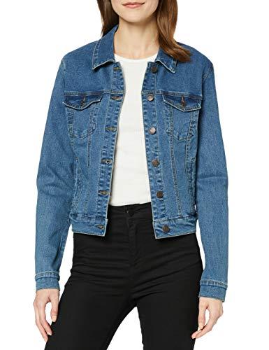 Vero-Moda-Vmhot-SOYA-Ls-Jacket-Mix-Noos-Blouson-Bleu-Medium-Blue-Denim-Medium-Blue-Denim-44-Taille-Fabricant-X-Large-Femme-0
