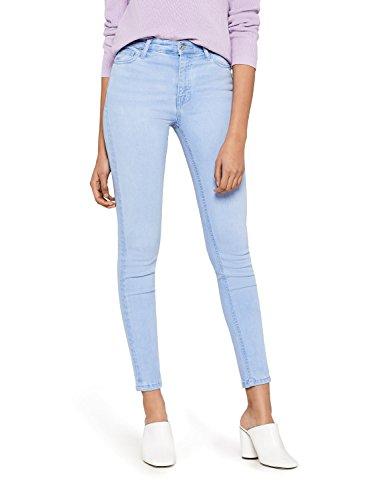 find-Jean-Skinny-Taille-Normale-Femme-Bleu-Ice-Bleach-36W-30L-Label-36W-30L-0