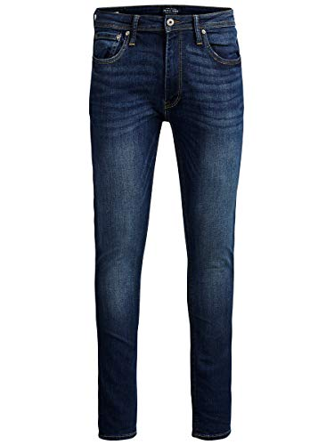 JACK-JONES-JJILIAM-JJORIGINAL-AM-014-LID-NOOS-Jeans-Homme-Bleu-Blue-Denim-W28L30-Taille-fabricant-28-0