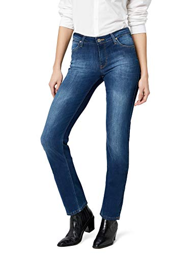 Lee-Marion-Straight-Jean-droit-Femme-Bleu-Night-Sky-30W33L-0